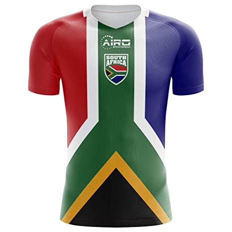 3819311f4 Amazon.com : Airo Sportswear 2018-2019 South Africa Home Concept Football  Soccer T-Shirt Jersey (Kids) : Clothing