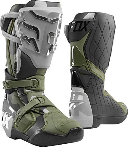 Fox Racing Comp X Boots 11 Grey