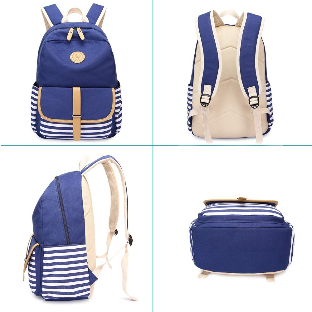 Amazon.com: Sqoto - Mochila para la escuela, bolso de hombro ...