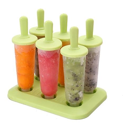 Molde del helado del verano/molde de paletas casera-C