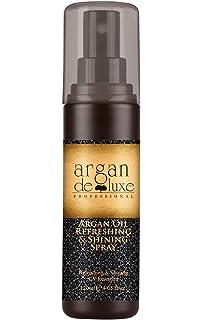 Argan DeLuxe Aceite de Argan Refrescante y Brillante con Protector Solar, 120ml, Cuidado del