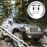 #6: Limb Risers Kit (for JK Jeep Wrangler 2007-2017) | Through the jungle Protector, Obstacle Eliminate Rope