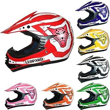 Leopard LEO-X17 Casco de Motocross para Niños Bicicleta Motocicleta ATV Patio ECE 22-