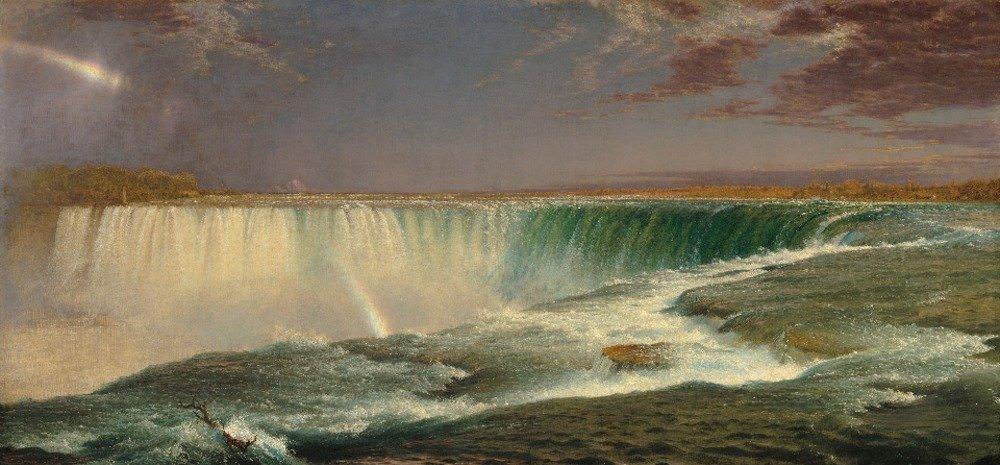 Niagara – 傑作クラシック – アーティスト: Frederic Edwin Church C。1857 36 x 54 Giclee Print LANT-66185-36x54 B01MG3OEIK  36 x 54 Giclee Print