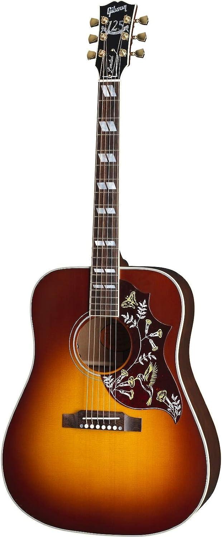Gibson Acoustic Hummingbird 125th Anniversary Autumn Burst - Juego de mesa (contenido en alemán)