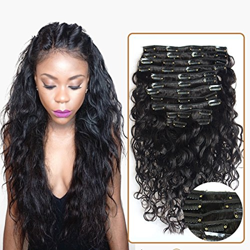 wet and wavy clip ins - 1