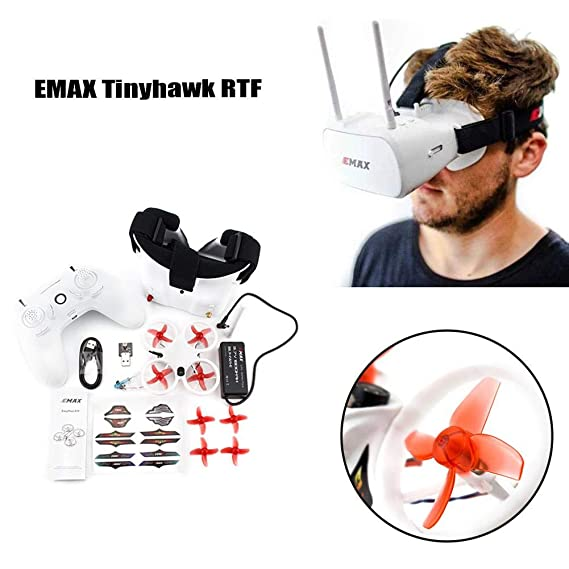 kioski Quadcopter EMAX Tinyhawk RTF Drone Cuatro Ejes 6 Canales ...