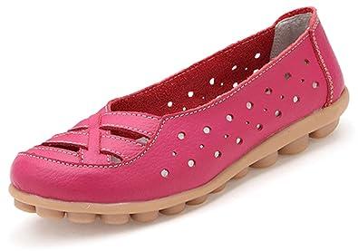 FangstoLoafer Flats - Zapatilla Baja Chica Mujer, Color Multicolor, Talla 36