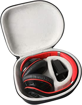 Khanka Duro Viaje Estuche Bolso Funda para Mpow H7 Cascos Bluetooth Inalámbrico Auriculares Diadema Cerrados con Micrófono: Amazon.es: Electrónica