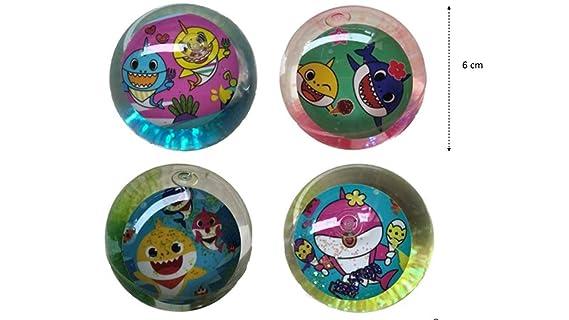 Amazon.com: Paquete de 12 bolas de tiburón para bebé, con ...