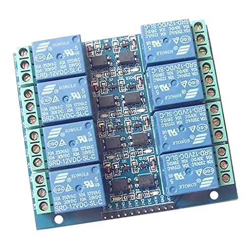 8 Channel 12V Relay Module Board Optocoupler Protection Power - 5