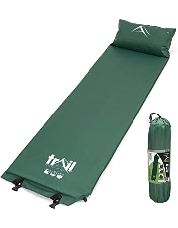 5604e00fab8 Trail Outdoor Leisure Self Inflating Camping Mat With Pillow Inflatable  Sleeping Camp Roll Mattress