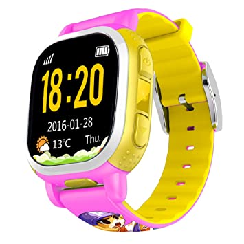 Tencent QQwatch Kids GPS Wrist Watch Phone with Real-time GPS Tracking /  SOS Emergency Call (EU