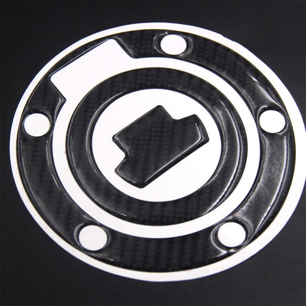 Sella 5D vera fibra di carbonio serbatoio gas Cap Pad filler copertura decalcomanie per Yamaha YZF R1/R6/FZ1/FZ6/mt-07/mt-09