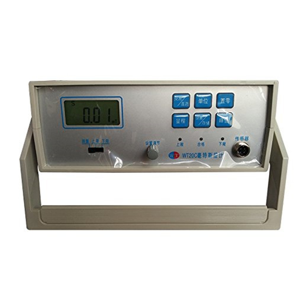 Gauss Meter Tesla's Digital Meter 0~20mT ~ 2000mT Sorting Table Gauss Meter Testing Instrument remanence Testing The Residual Magnetic to Measure DC, AC Magnetic Field (WT20C)