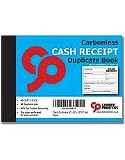 Cherry Carbonless NCR Money Receipt Duplicate Book A6 (105mm x 148mm) 50 Sets