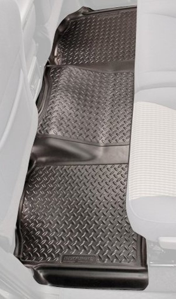Husky Liners Custom Fit Second Seat Floor Liner for Select Cadillac Escalade Models Black