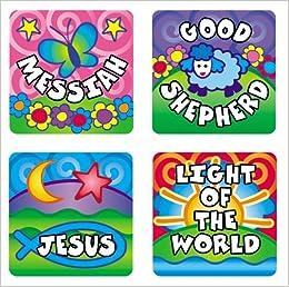 Names of God Sticker Pack (Scripture Stickers): Amazon.es: Carson-Dellosa Christian Publishing: Libros en idiomas extranjeros