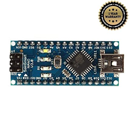 4c034b6b15c Amazon.com: SainSmart Nano v3.0 Compatible with Arduino: Computers &  Accessories