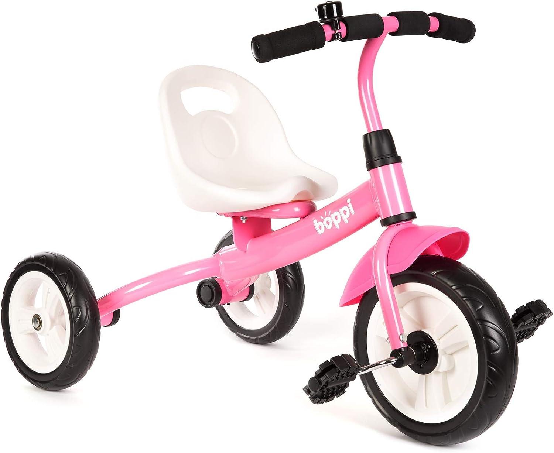boppi Triciclo Infantil 3 Ruedas con Pedales - Rosa