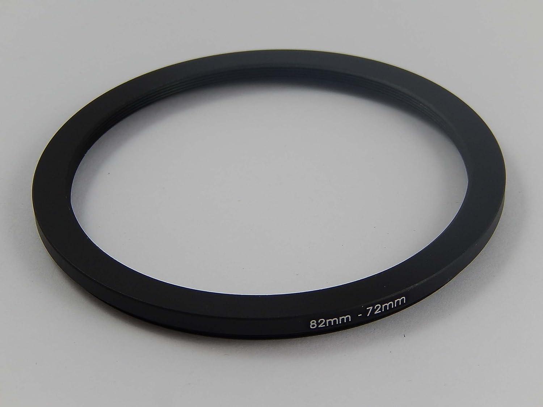vhbw Adaptateur Filtre Step Down m/étal Noir 82mm-72mm pour Appareil Photo et Objectif Tamron SP 24-70mm F2.8 Di VC USD