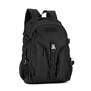 outwolf impermeable táctico Casual mochila de senderismo y escuela libro bolsa montar mochila para ordenador portátil de 15 pulgadas portátil (40L): ...