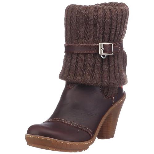 Art Paris, Botines tacón para Mujer, Marrón (Brown), 38 EU: Amazon.es: Zapatos y complementos