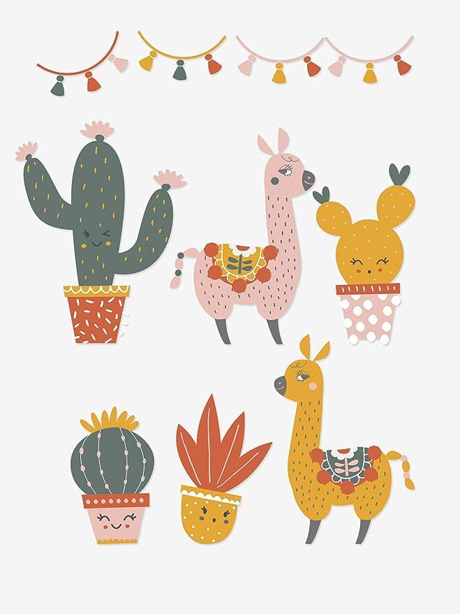VERTBAUDET Panier de rangement Cactus Multicolore TU