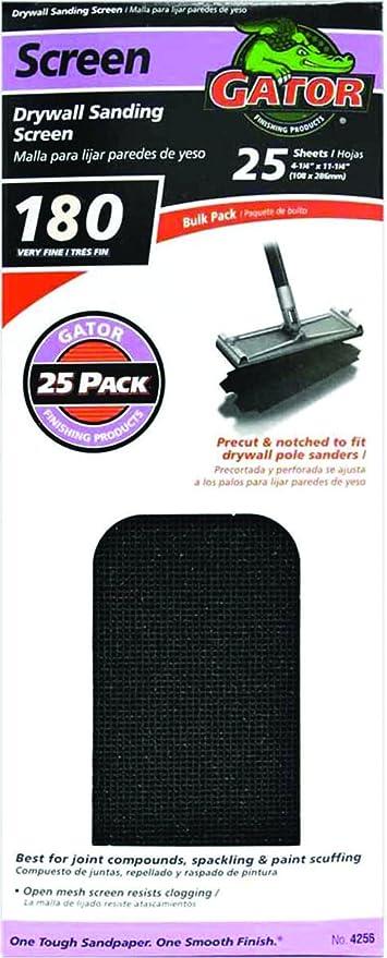 Gator Grit Sandpaper 180 Grit Extra Fine Drywall