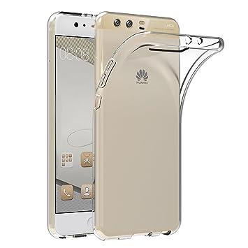AICEK Funda Huawei P10 Plus, Transparente Silicona Fundas para Huawei P10 Plus Carcasa (5,5 Pulgadas) Silicona Funda Case