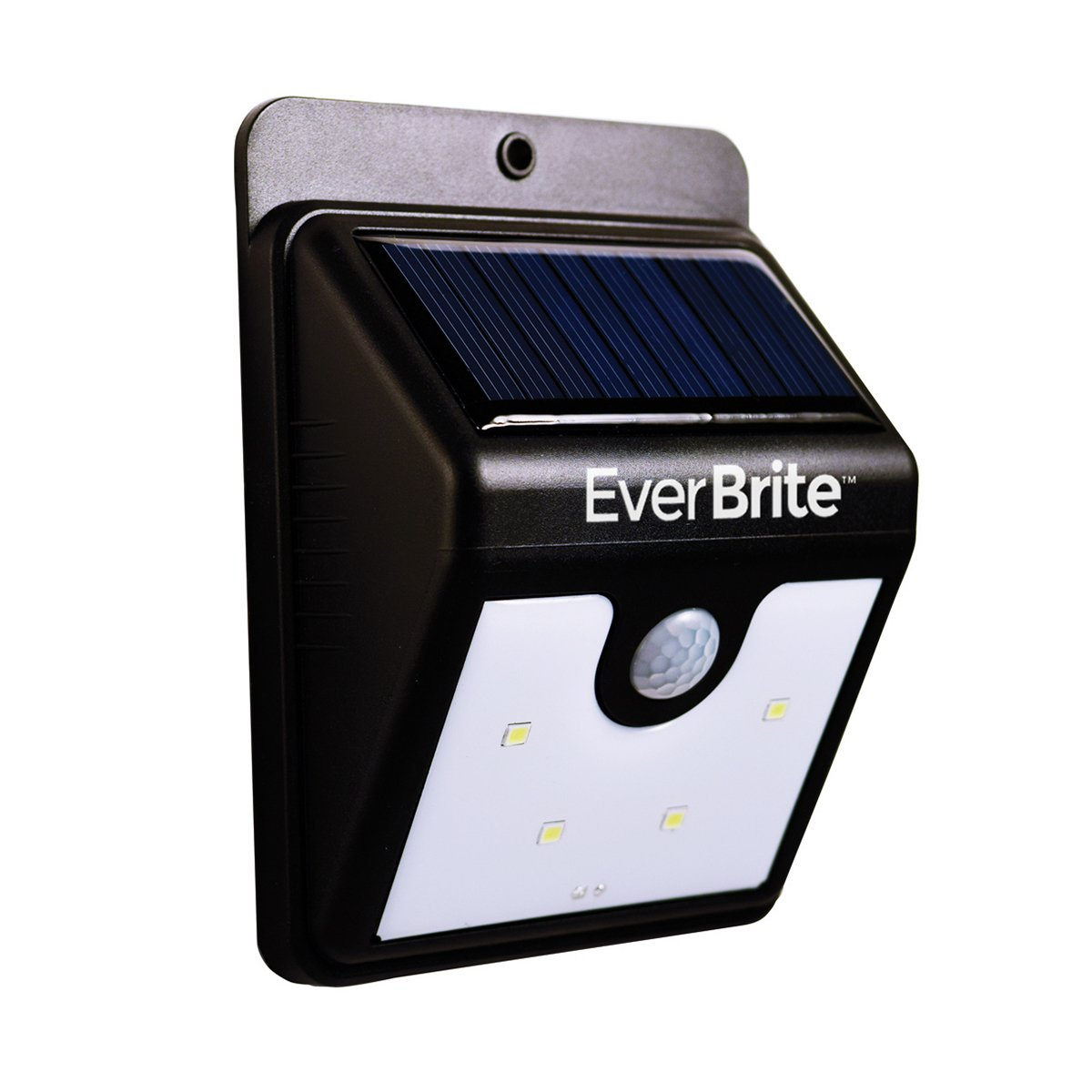 JML Ever Brite LED Solar Powered Motion Activated Indoor / Outdoor Security Night Lamp Light