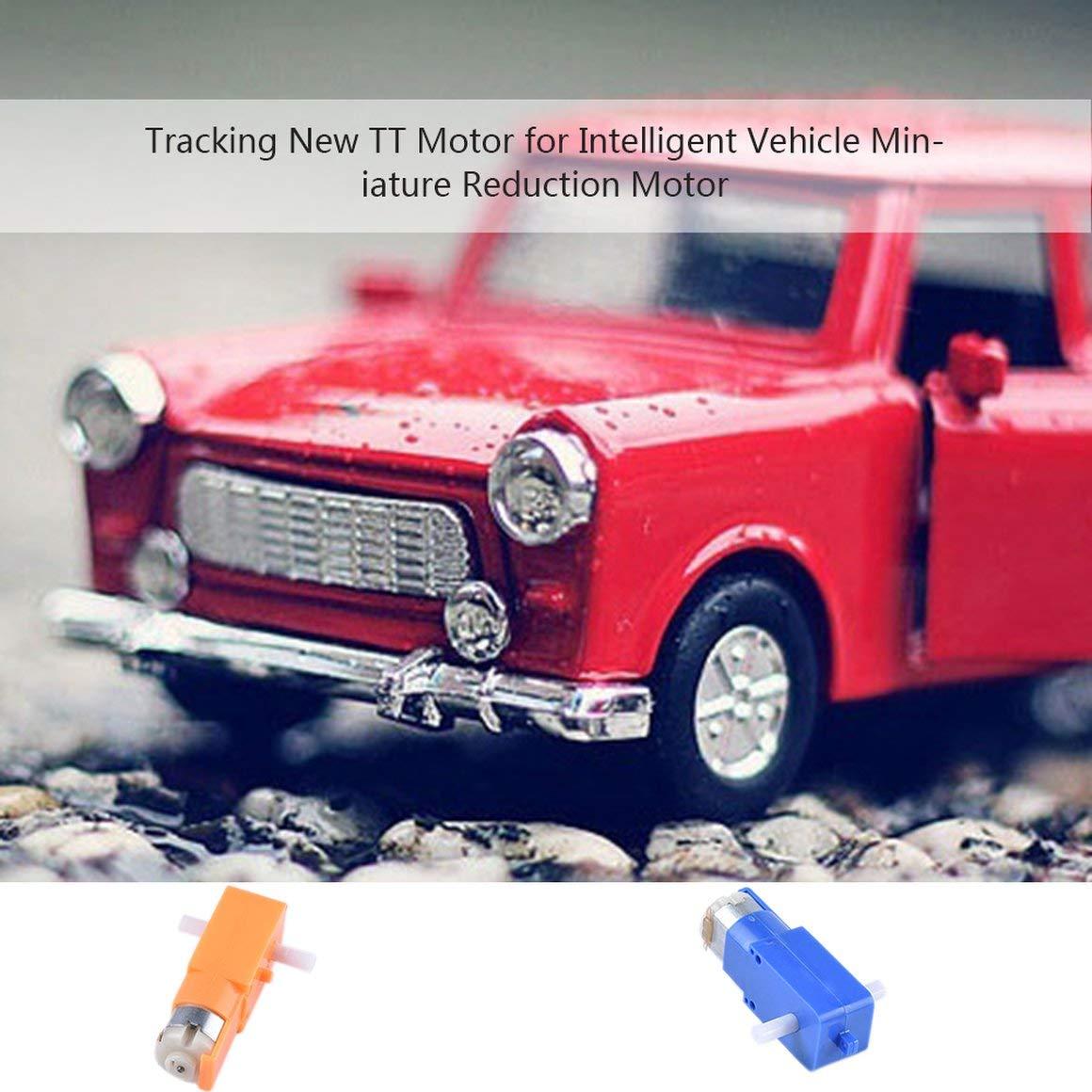 uso para modelos de bricolaje Funnyrunstore TT MOTOR 1 120 Doble eje 3-6V DC Engranaje Motor Im/án fuerte Anti-interferencias