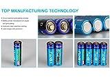 KENTLI 1.5v AAA Rechargeable Battery 1180mAh