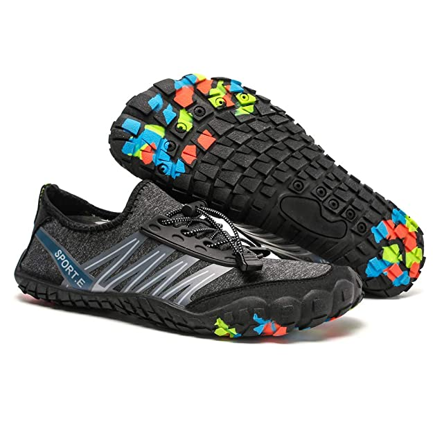 PADGENE Water Shoes Socks Barefoot Skin Swim Shoes, Men Women Quick Dry Water Sport Shoes, Unisex Aqua Shoes for Swim Yoga Beach Running Snorkeling ...