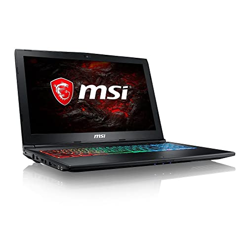 MSI GP62MVR 7RFX-880 Leopard Pro 15.6-Inch Full HD Gaming Laptop (Black) - (Core i7-7700HQ, 8GB RAM, 128GB SSD, 1TB HDD, GTX 1060 Graphics, Windows 10 Home)