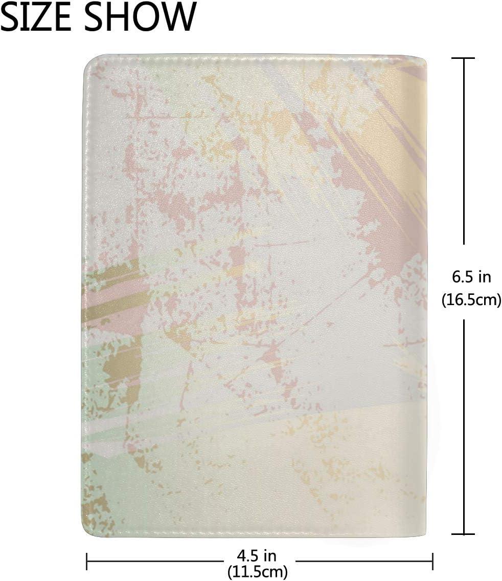 Snow White Rose Oil Multi-purpose Travel Passport Set With Storage Bag Leather Passport Holder Passport Holder With Passport Holder Travel Wallet