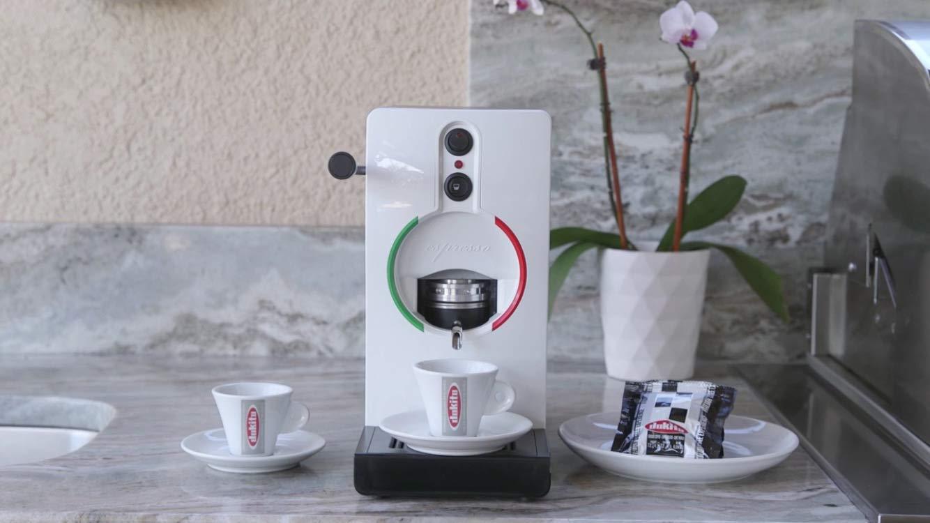 Dokito USA LLC - Tube ESE Espresso Pod Machine (White)