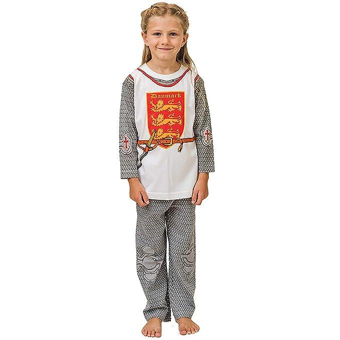 Pijama de Caballero de Dinamarca y Ropa Casera Divertida: Amazon.es: Ropa y accesorios