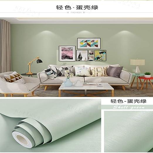 Papel Pintado PVC Color Pigmento Puro Dormitorio Dormitorio ...