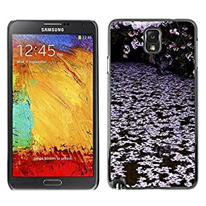All Phone Most Case / Hard PC Metal piece Shell Slim Cover Protective Case Carcasa Funda Caso de protección para Samsung Note 3 N9000 N9002 N9005 Trees Lake Pink White