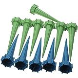 arrosage automatique - SODIAL (R)Blue Water 12x Arrosage automatique Irrigation de Spike Jardin Fleur Plante Drip Sprinkler Vert