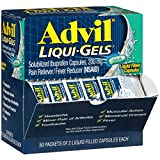 Advil Liqui-Gels (50 Packets of 2 Capsules) Pain Reliever/Fever...