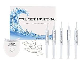 Amazon Com At Home Teeth Whitening Kit Enough Gel For 25