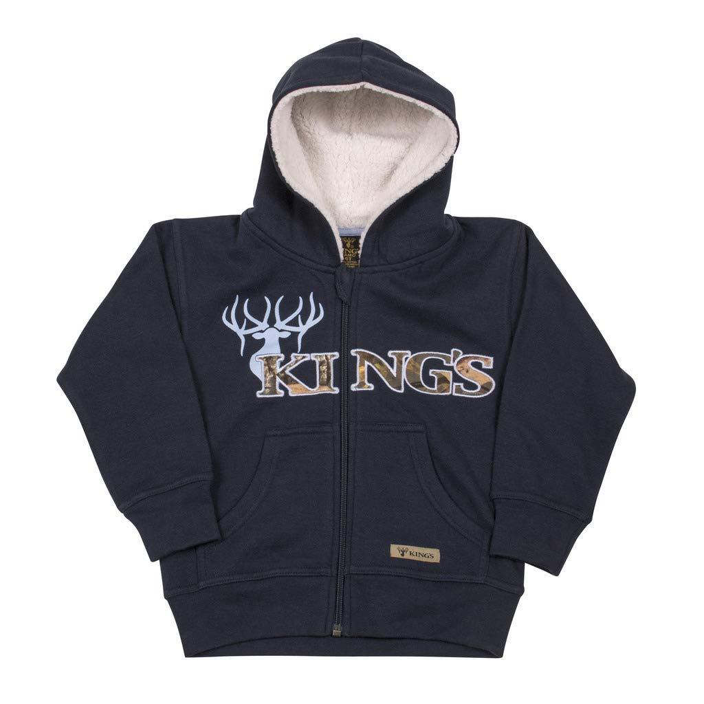 Infant Sherpa Zip Hoodie Kings Camo