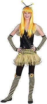 Halloween enia – Disfraz de Adolescente para niña, Abeja Hummel ...