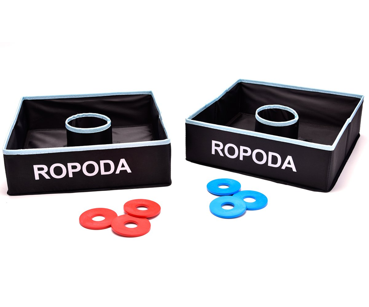 ROPODA Washer Toss Game Set-Outdoor Family Game-Perfect for Lawn,Backyard,Beach,Parties, Camping, Tailgating and more.