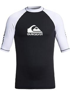 619b61bf O 'Neill Wetsuits Basic Skins S/S Crew - Camiseta de poliester para ...