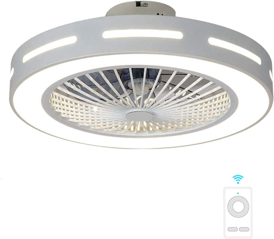 Fan ceiling light Lxn Luz del Ventilador De Techo De Cristal Sala ...
