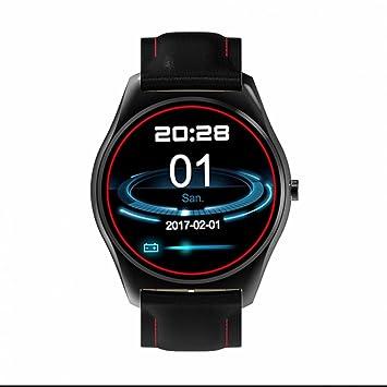 SmartWatch Bluetooth reloj inteligente Reloj Deportivo,Monitor de Pulso Cardiaco,Calculador de Distancias,