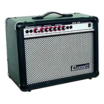 Dimavery 26360140 GA-40R guitarra eléctrica del amplificador (40 vatios)